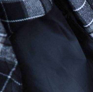 【即納】韓国 ファッション スカート ボトムス 秋 冬 カジュアル SPTX4241  タータンチェック きれいめ ロング丈 ウエストゴム フレア オルチャン シンプル 定番 セレカジの写真6枚目