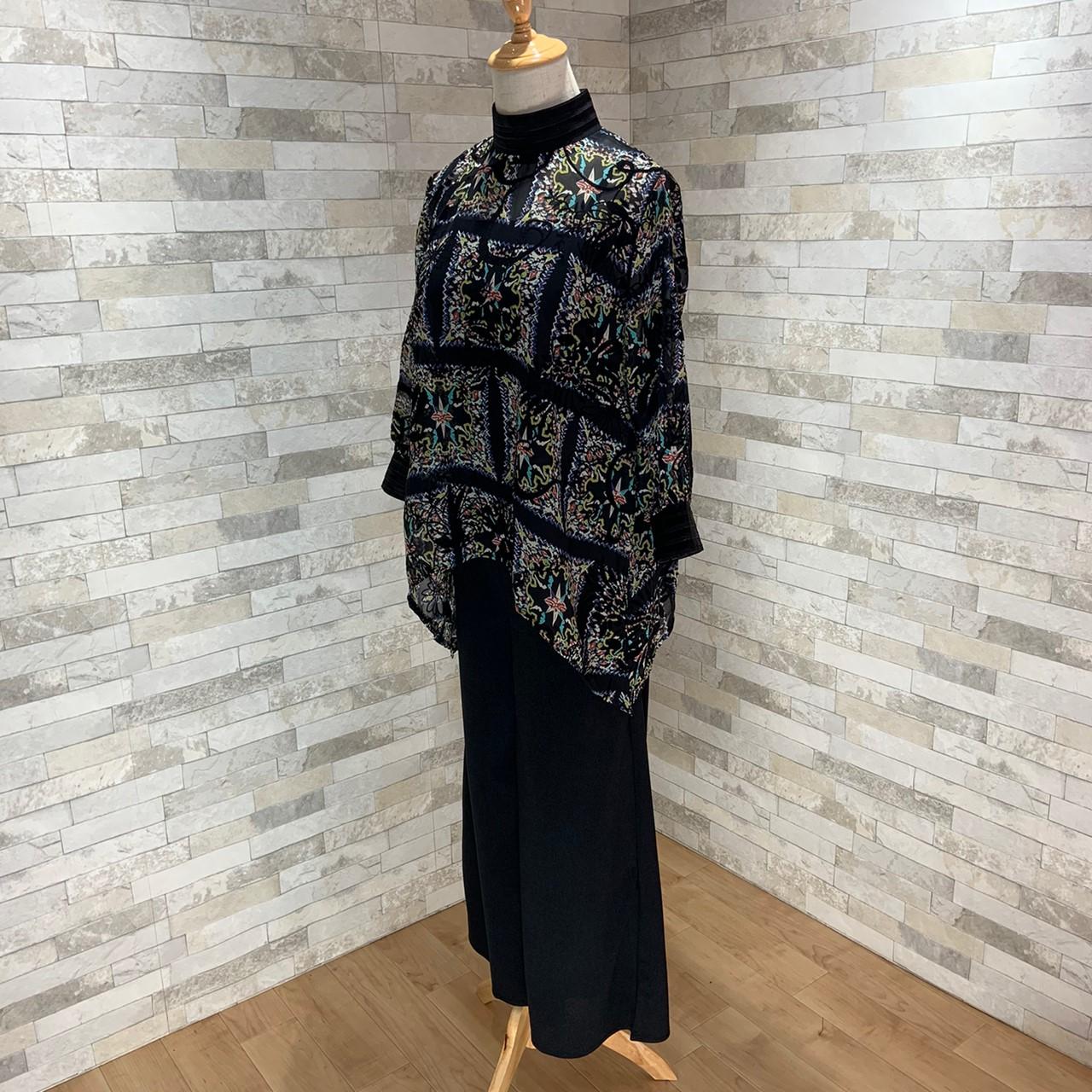 【即納】韓国 ファッション パンツ セットアップ パーティードレス 結婚式 お呼ばれドレス 秋 夏 春 パーティー ブライダル SPTX7230  エレガント シースルー ロ 二次会 セレブ きれいめの写真18枚目