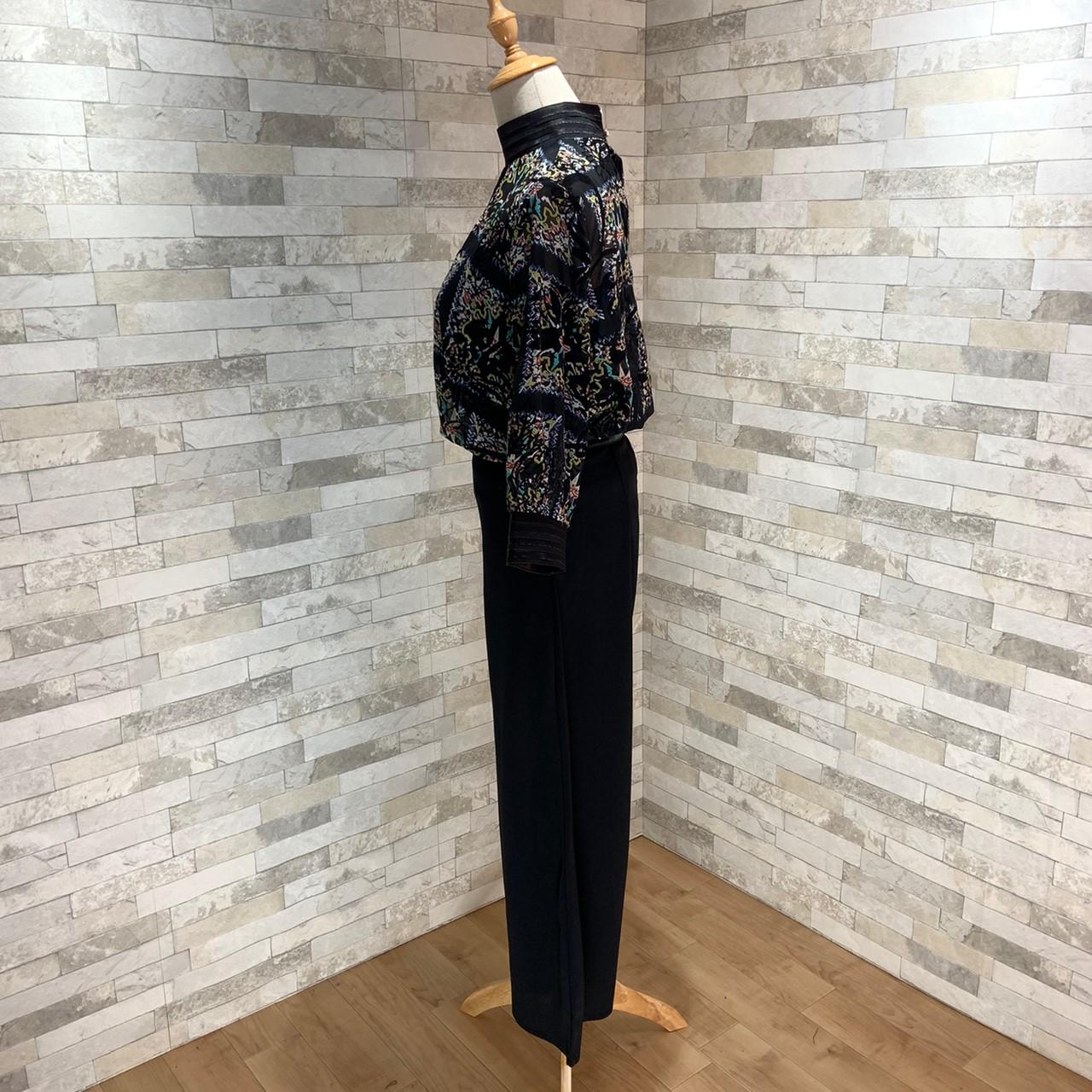 【即納】韓国 ファッション パンツ セットアップ パーティードレス 結婚式 お呼ばれドレス 秋 夏 春 パーティー ブライダル SPTX7230  エレガント シースルー ロ 二次会 セレブ きれいめの写真20枚目