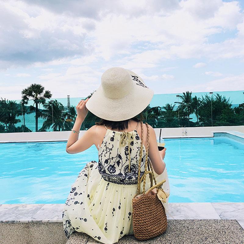 【即納】リゾートワンピース ロング マキシ ハワイ お出かけワンピ 春 夏 リゾート パーティー SPTX8659  マキシワンピース リゾートワンピース ハワイ ウエス オルチャン セレブ セクシーの写真5枚目