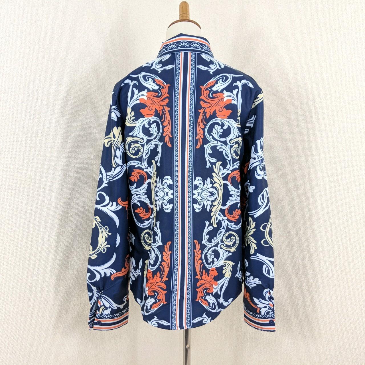 韓国 ファッション トップス ブラウス シャツ 夏 春 秋 パーティー ブライダル PTX8689  スカーフ柄 ドレス オフィスカジュアル 二次会 セレブ きれいめの写真12枚目
