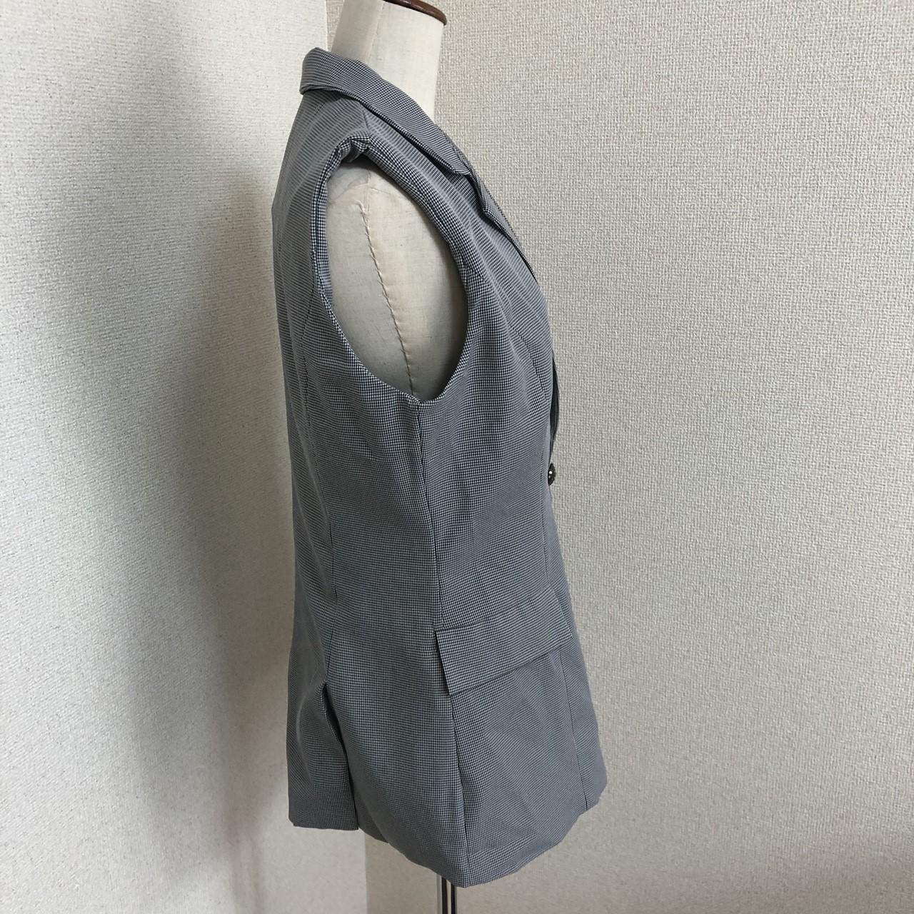 【即納】韓国 ファッション パンツ セットアップ パーティードレス 結婚式 お呼ばれドレス 春 夏 パーティー ブライダル SPTX9206  ノースリーブジャケット テーパ 二次会 セレブ きれいめの写真15枚目