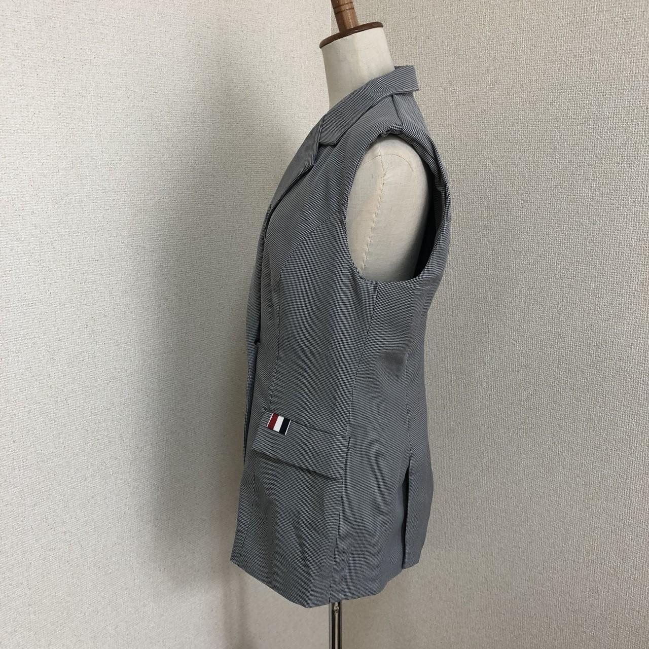 【即納】韓国 ファッション パンツ セットアップ パーティードレス 結婚式 お呼ばれドレス 春 夏 パーティー ブライダル SPTX9206  ノースリーブジャケット テーパ 二次会 セレブ きれいめの写真16枚目