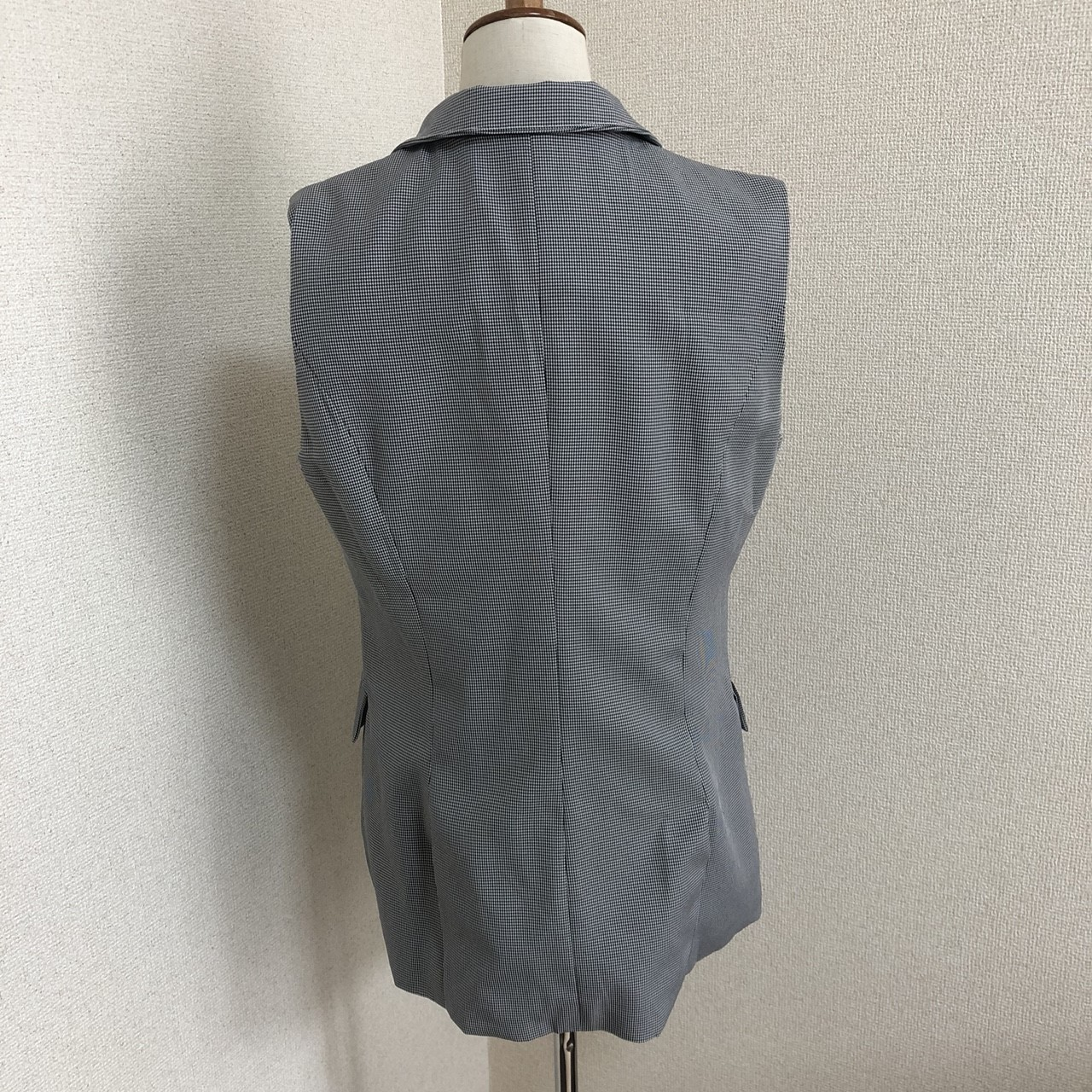 【即納】韓国 ファッション パンツ セットアップ パーティードレス 結婚式 お呼ばれドレス 春 夏 パーティー ブライダル SPTX9206  ノースリーブジャケット テーパ 二次会 セレブ きれいめの写真17枚目