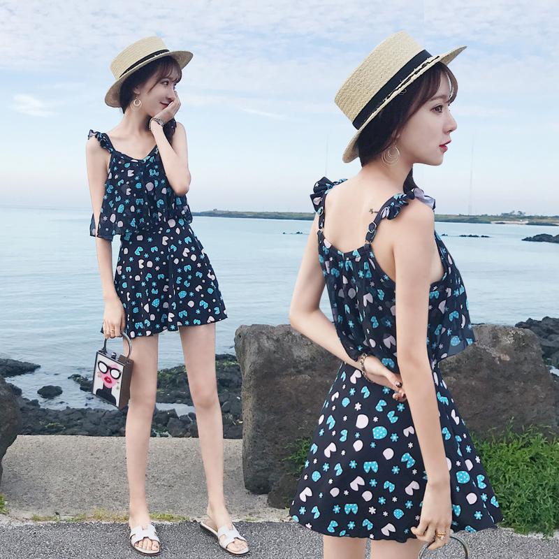 「ビタミンカラーの花柄ワンピース」露出控えめで◎ 夏 春 PTX9664の写真5枚目