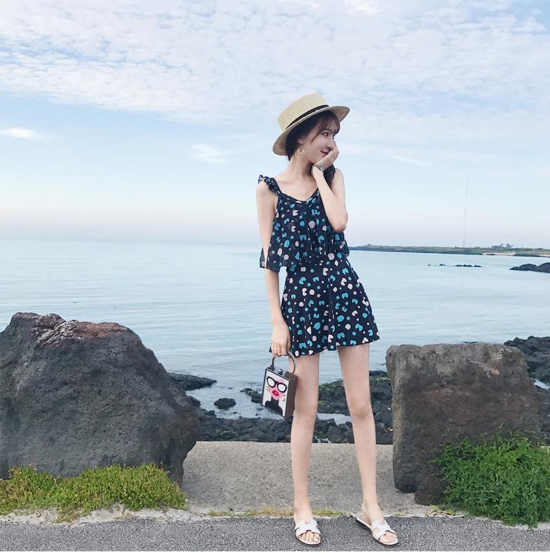 「ビタミンカラーの花柄ワンピース」露出控えめで◎ 夏 春 PTX9664の写真17枚目