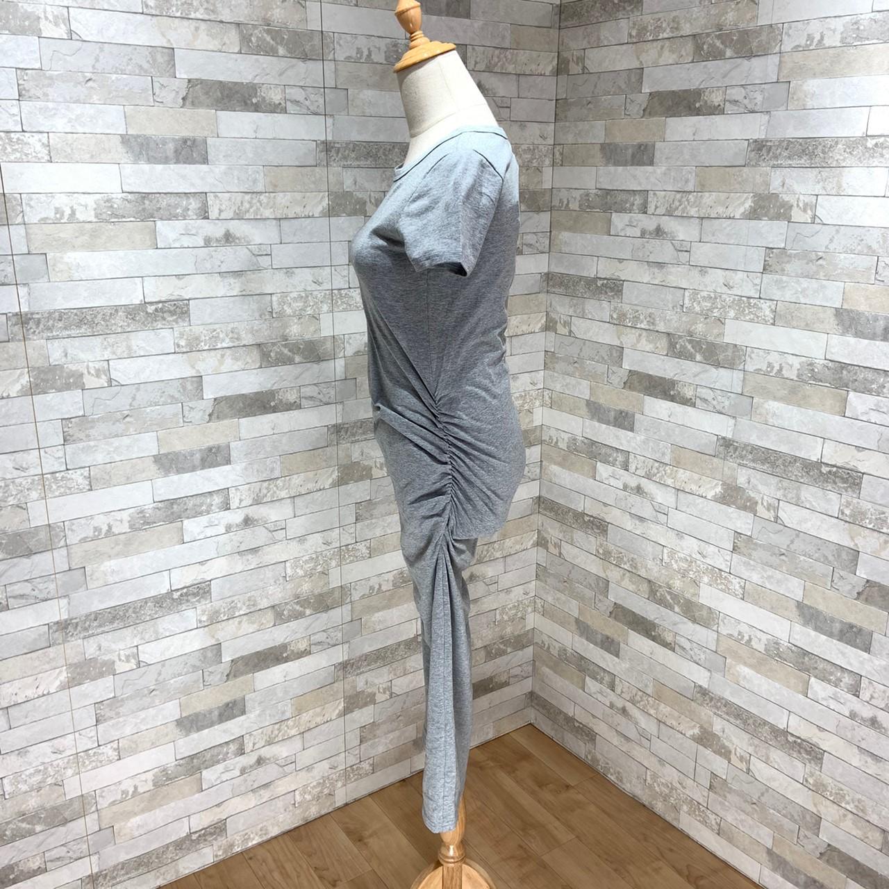 【即納】韓国 ファッション ワンピース 春 夏 カジュアル SPTXA748  リゾートワンピース ハワイ Tシャツ Tワンピ カットソー スポーティー ストリー オルチャン シンプル 定番 セレカジの写真12枚目