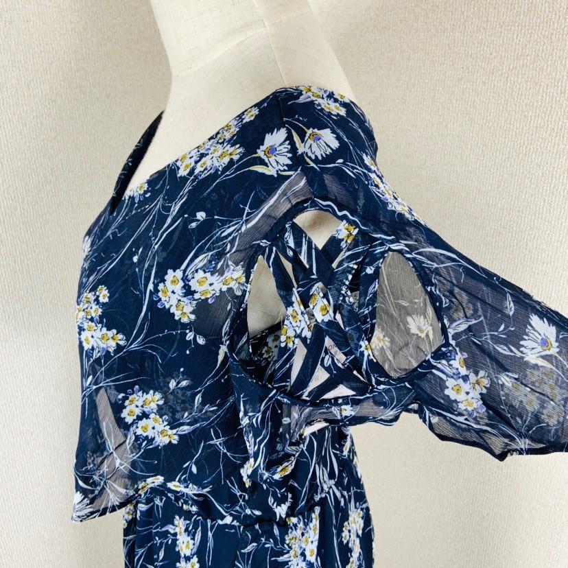 【即納】韓国 ファッション ワンピース 夏 春 カジュアル SPTXB696  マキシワンピース リゾートワンピース ハワイ ケープ風袖 スリット イレギュラーヘ オルチャン シンプル 定番 セレカジの写真16枚目