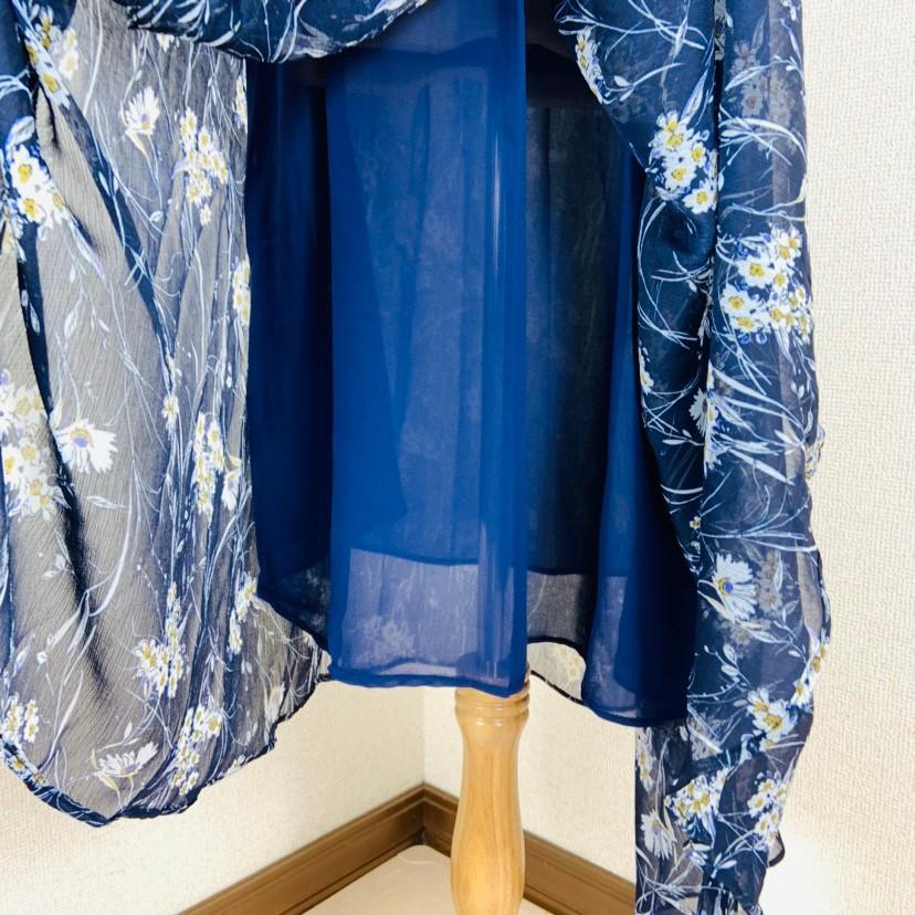 【即納】韓国 ファッション ワンピース 夏 春 カジュアル SPTXB696  マキシワンピース リゾートワンピース ハワイ ケープ風袖 スリット イレギュラーヘ オルチャン シンプル 定番 セレカジの写真18枚目