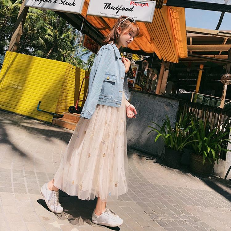 韓国 ファッション アウター ブルゾン 春 秋 冬 カジュアル PTXC258  デニム ジーンズ 古着風 ヴィンテージ風 Gジャン ジャンパー オルチャン シンプル 定番 セレカジの写真3枚目