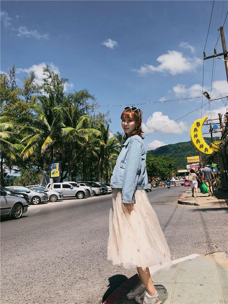 韓国 ファッション アウター ブルゾン 春 秋 冬 カジュアル PTXC258  デニム ジーンズ 古着風 ヴィンテージ風 Gジャン ジャンパー オルチャン シンプル 定番 セレカジの写真18枚目