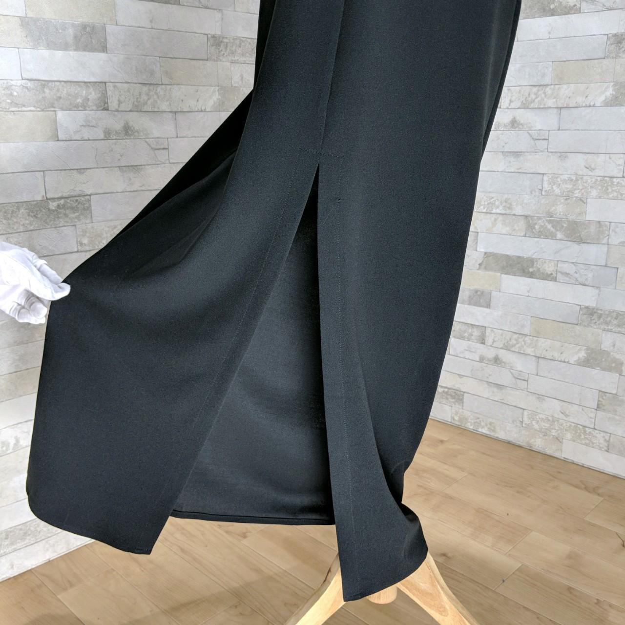 【即納】韓国 ファッション ワンピース パーティードレス ロング マキシ 秋 冬 パーティー ブライダル SPTXC523 結婚式 お呼ばれ ラップ ドレープ ウエストマーク 二次会 セレブ きれいめの写真19枚目