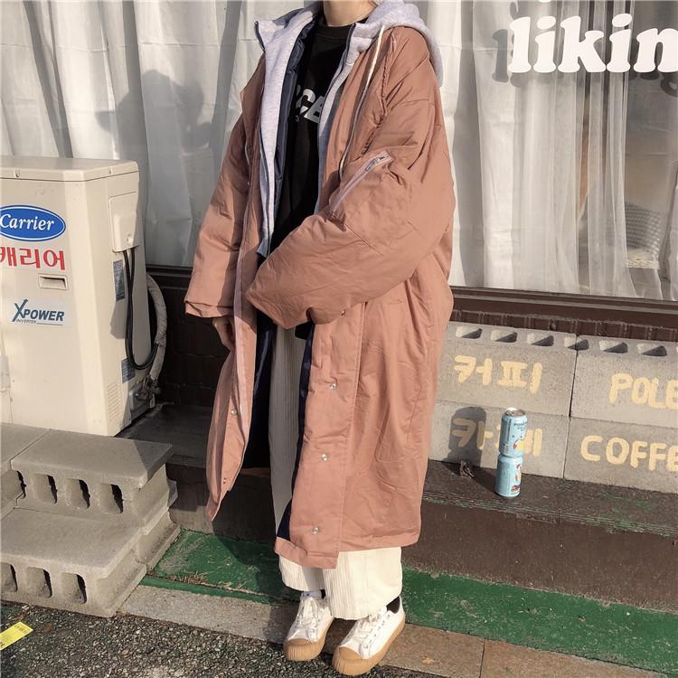 「もたつかない重ね着♪」フーディをプラスしたミリタリーコート 秋 冬 PTXD820の写真18枚目