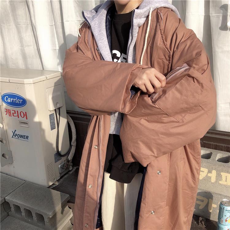 「もたつかない重ね着♪」フーディをプラスしたミリタリーコート 秋 冬 PTXD820の写真19枚目