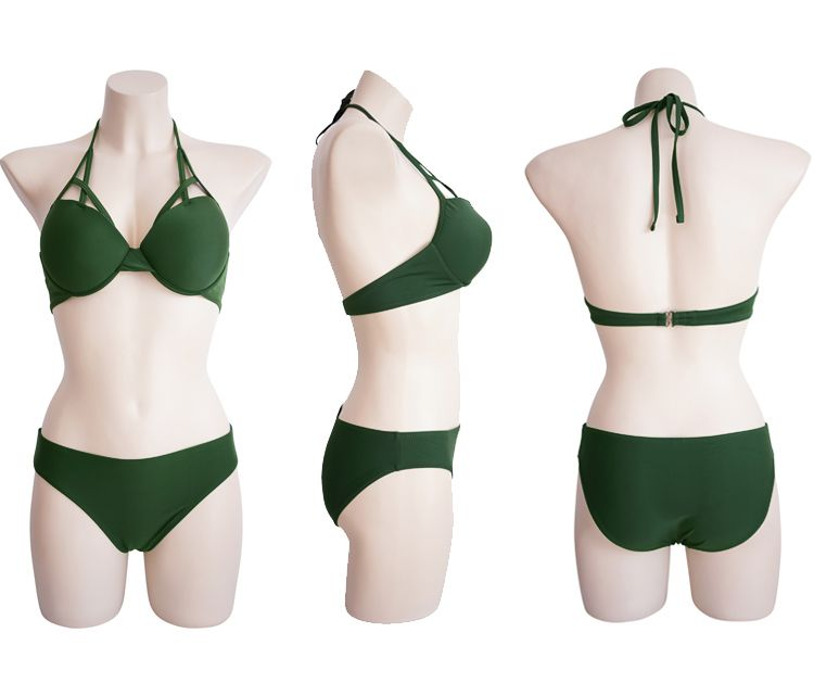 「デコルテで差をつける☆」ニュアンスある胸元を作るビキニ 夏 春 PTXE455の写真15枚目