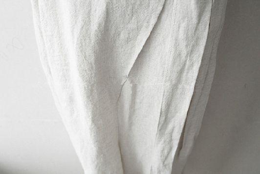 韓国 ファッション オールインワン サロペット 春 夏 カジュアル PTXE641  リネン風 五分袖 ワイドパンツ リラクシー エレガント リゾート オルチャン シンプル 定番 セレカジの写真20枚目