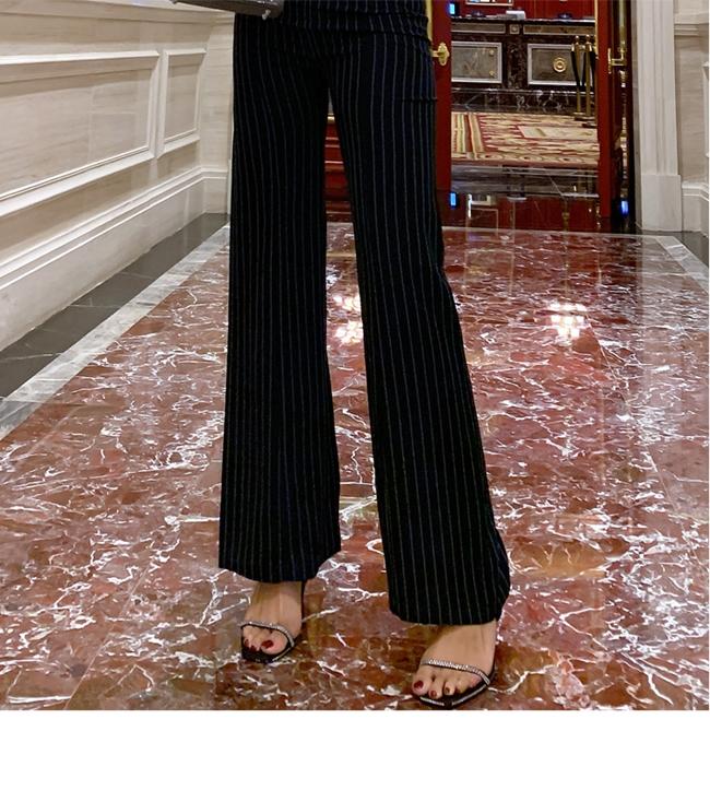 韓国 ファッション オールインワン サロペット 春 夏 パーティー ブライダル PTXE912  チョーカー風 Vネック ウエストマーク ワイドパンツ ドレス 二次会 セレブ きれいめの写真14枚目