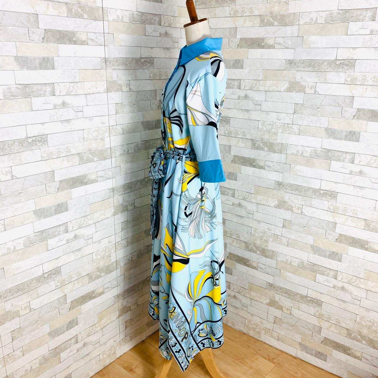 【即納】韓国 ファッション ワンピース パーティードレス ひざ丈 ミディアム 夏 春 パーティー ブライダル SPTXF023 結婚式 お呼ばれ リゾートワンピース ハワイ  二次会 セレブ きれいめの写真13枚目