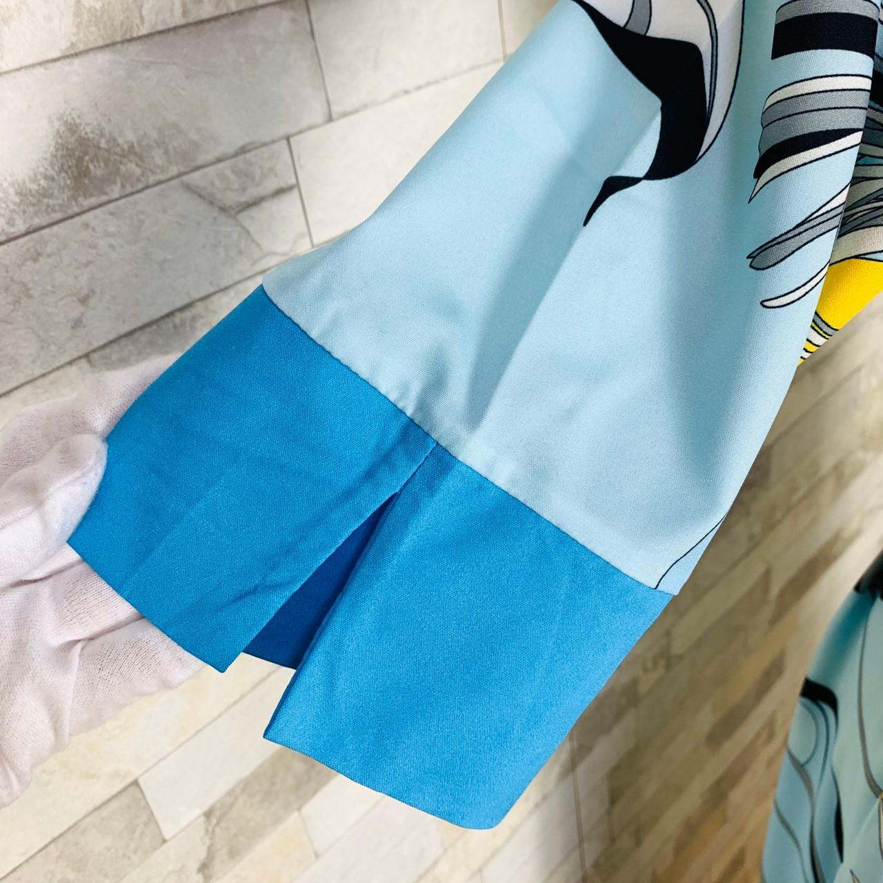 【即納】韓国 ファッション ワンピース パーティードレス ひざ丈 ミディアム 夏 春 パーティー ブライダル SPTXF023 結婚式 お呼ばれ リゾートワンピース ハワイ  二次会 セレブ きれいめの写真17枚目