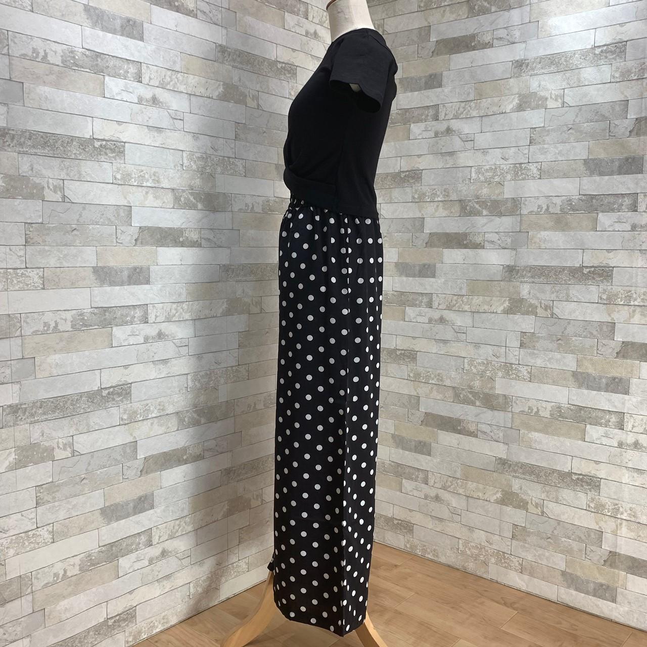 【即納】韓国 ファッション セットアップ 春 夏 カジュアル SPTXF278  クロスデザイン ショート Tシャツ シフォン ワイドストレートパンツ リゾート オルチャン シンプル 定番 セレカジの写真14枚目