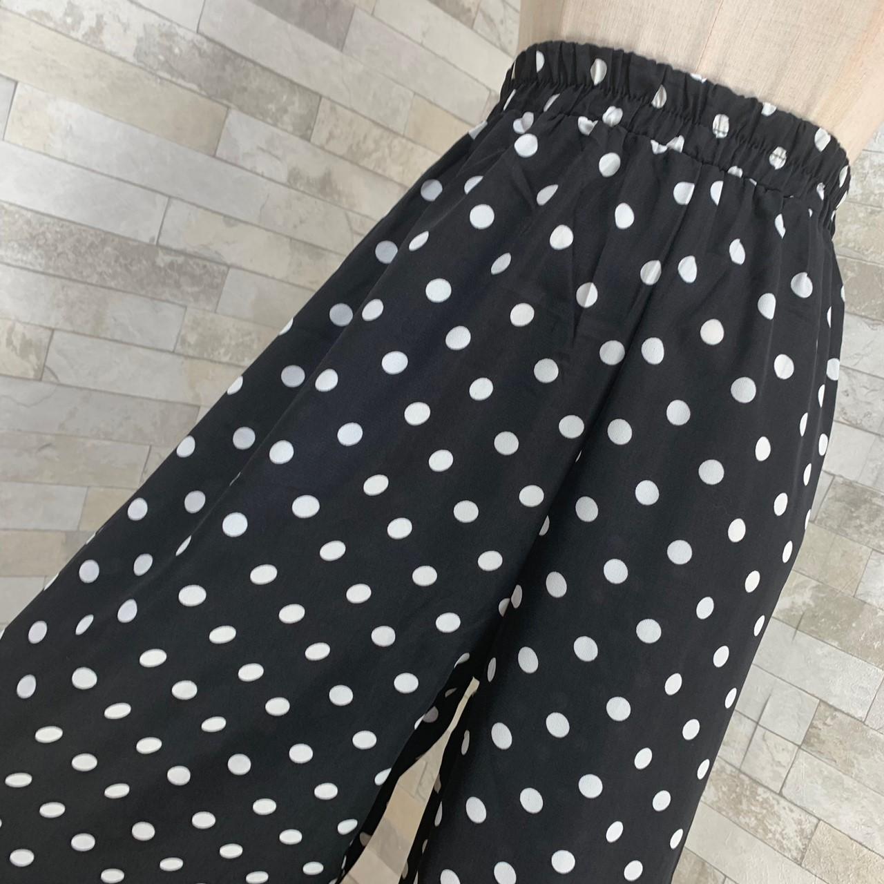 【即納】韓国 ファッション セットアップ 春 夏 カジュアル SPTXF278  クロスデザイン ショート Tシャツ シフォン ワイドストレートパンツ リゾート オルチャン シンプル 定番 セレカジの写真19枚目
