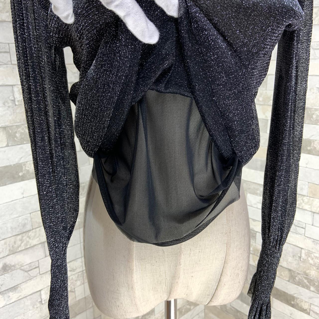 【即納】韓国 ファッション パーティードレス 結婚式 お呼ばれドレス セットアップ 秋 冬 春 パーティー ブライダル SPTXG154  シースルー ペプラム タイト キャ 二次会 セレブ きれいめの写真18枚目