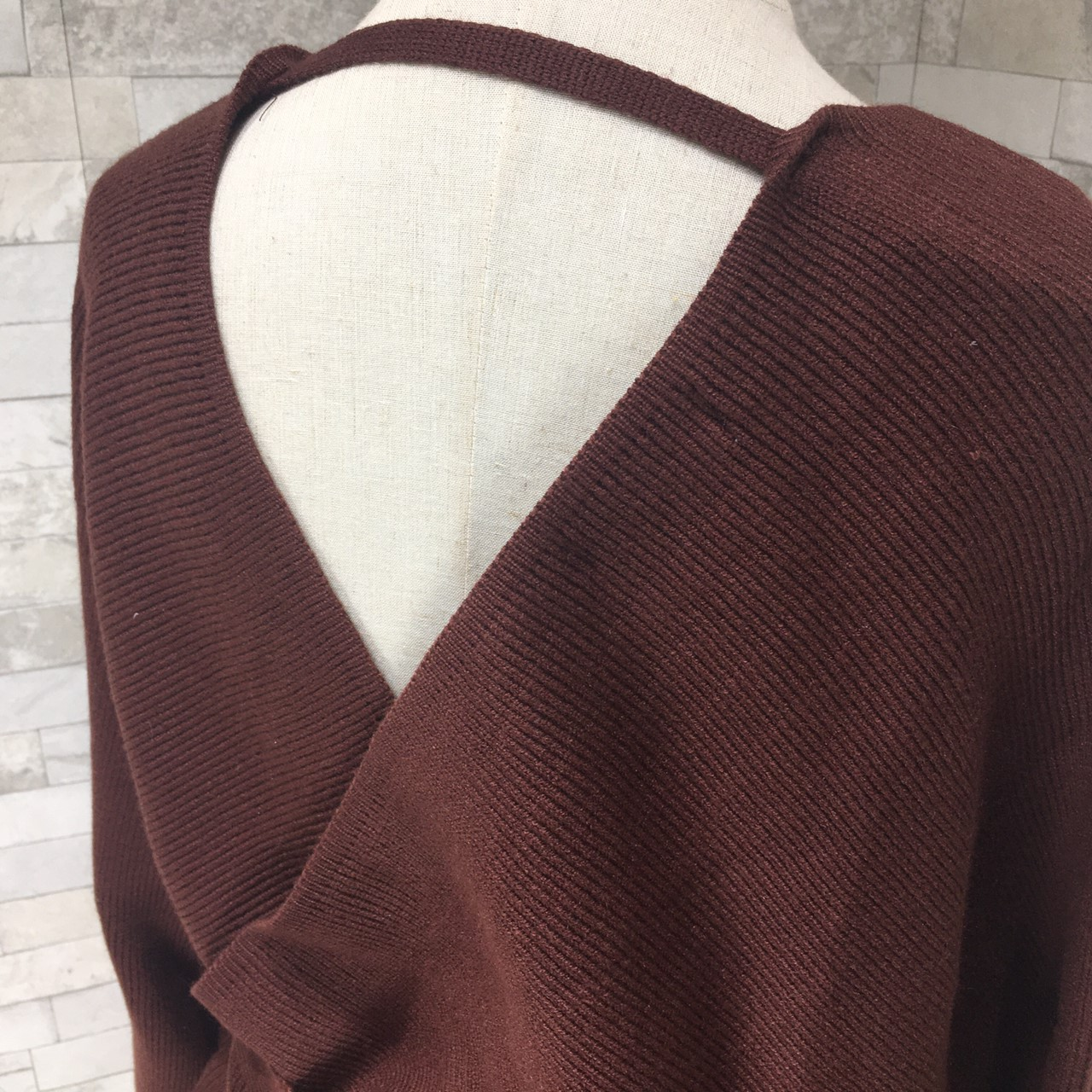 韓国 ファッション セットアップ 秋 冬 春 カジュアル PTXG298  ペプラム ゆったり リブ チュールスカート オルチャン シンプル 定番 セレカジの写真10枚目
