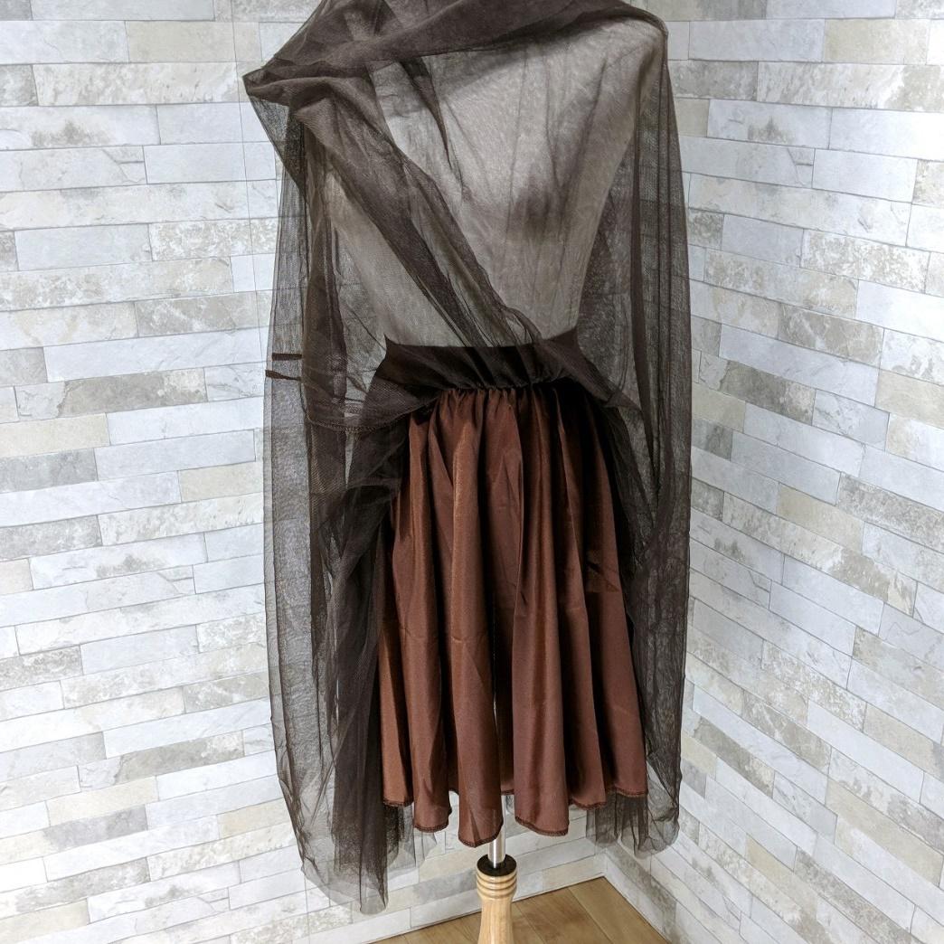 韓国 ファッション セットアップ 秋 冬 春 カジュアル PTXG298  ペプラム ゆったり リブ チュールスカート オルチャン シンプル 定番 セレカジの写真13枚目
