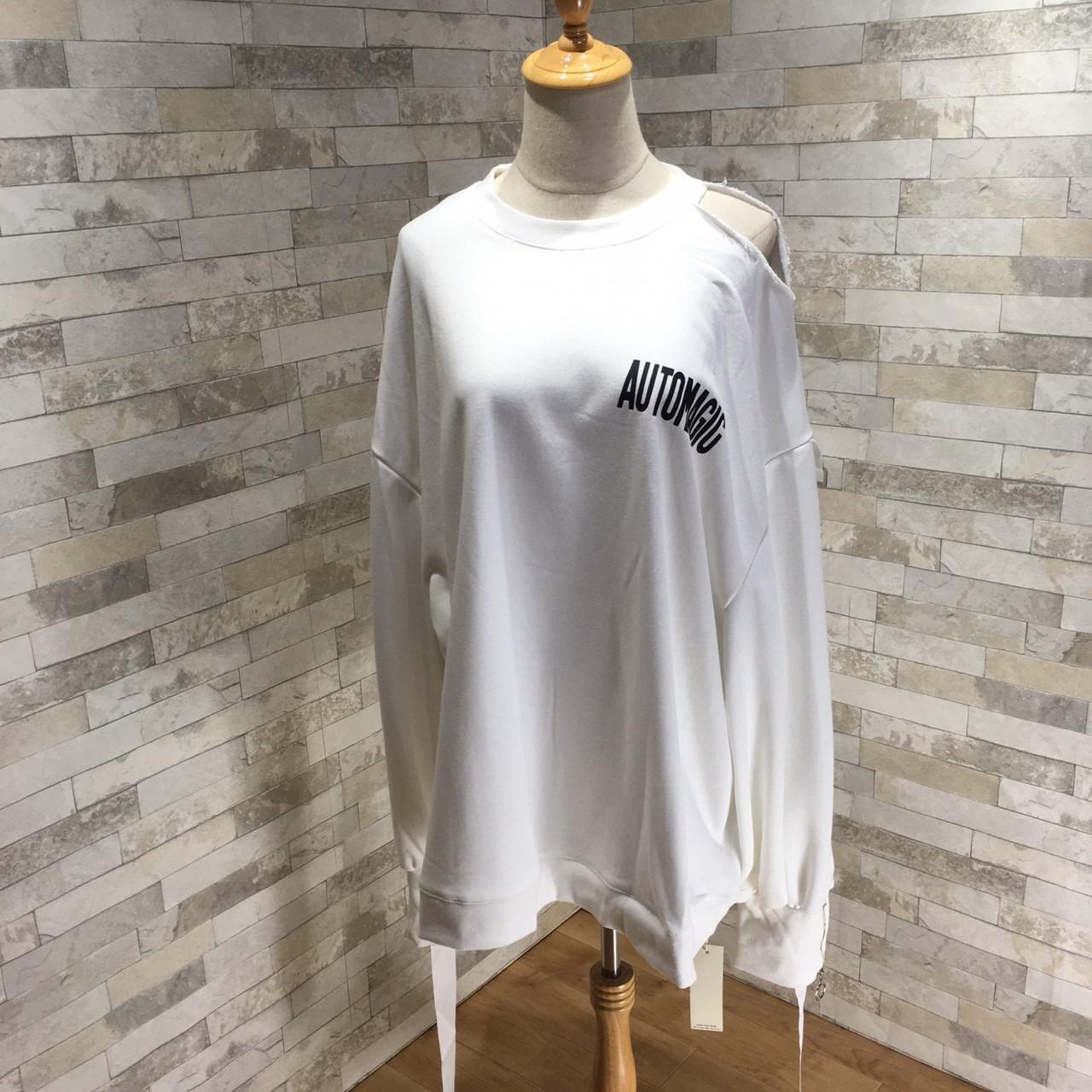 韓国 ファッション トップス スウェット トレーナー 秋 冬 カジュアル PTXG315  ビッグシルエット ダメージ ストリート オルチャン シンプル 定番 セレカジの写真15枚目