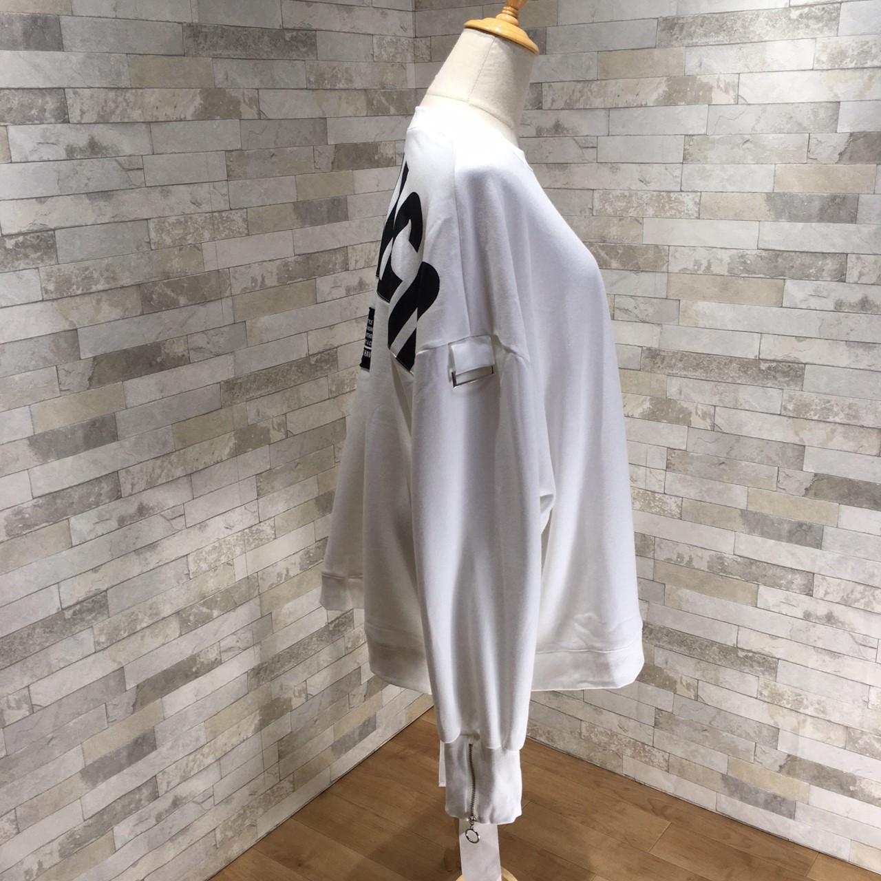 韓国 ファッション トップス スウェット トレーナー 秋 冬 カジュアル PTXG315  ビッグシルエット ダメージ ストリート オルチャン シンプル 定番 セレカジの写真16枚目