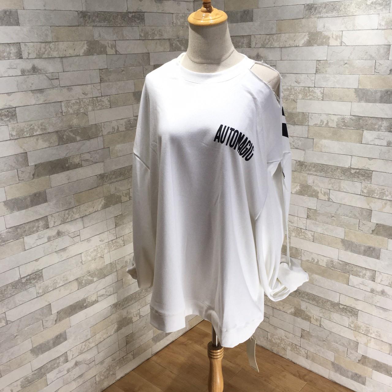 韓国 ファッション トップス スウェット トレーナー 秋 冬 カジュアル PTXG315  ビッグシルエット ダメージ ストリート オルチャン シンプル 定番 セレカジの写真18枚目