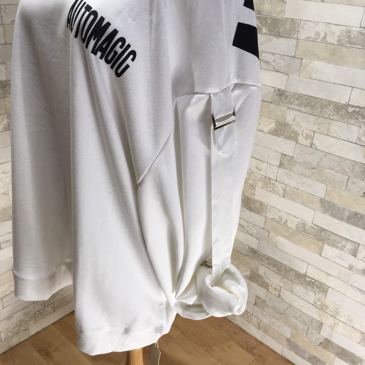 韓国 ファッション トップス スウェット トレーナー 秋 冬 カジュアル PTXG315  ビッグシルエット ダメージ ストリート オルチャン シンプル 定番 セレカジの写真19枚目