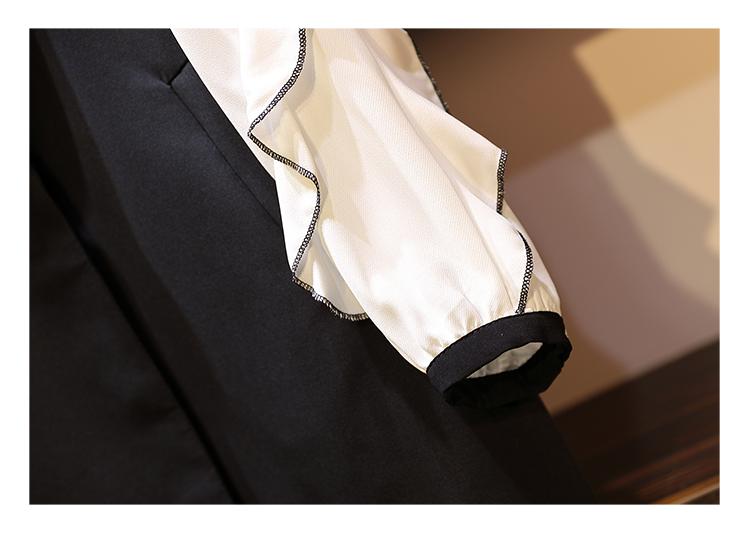 トップス アンサンブル ロングベスト Iライン モノトーン 秋 冬 春 PTXG323の写真7枚目