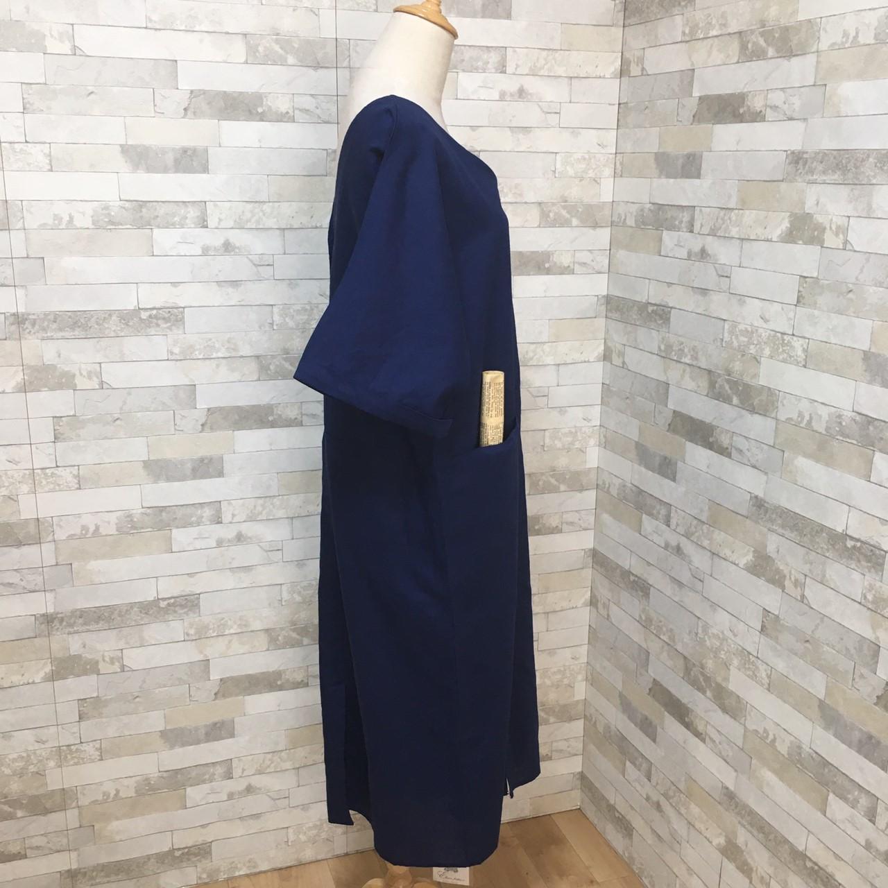 韓国 ファッション ワンピース 春 夏 秋 カジュアル PTXG330  チュラルテイスト リゾートワンピース リネン風 オルチャン シンプル 定番 セレカジの写真16枚目