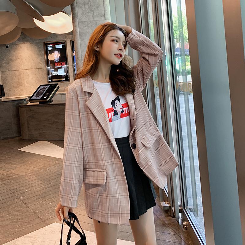 韓国 ファッション セットアップ 春 秋 冬 カジュアル PTXG375  ビッグシルエット プリーツスカート プレッピー オルチャン シンプル 定番 セレカジの写真2枚目