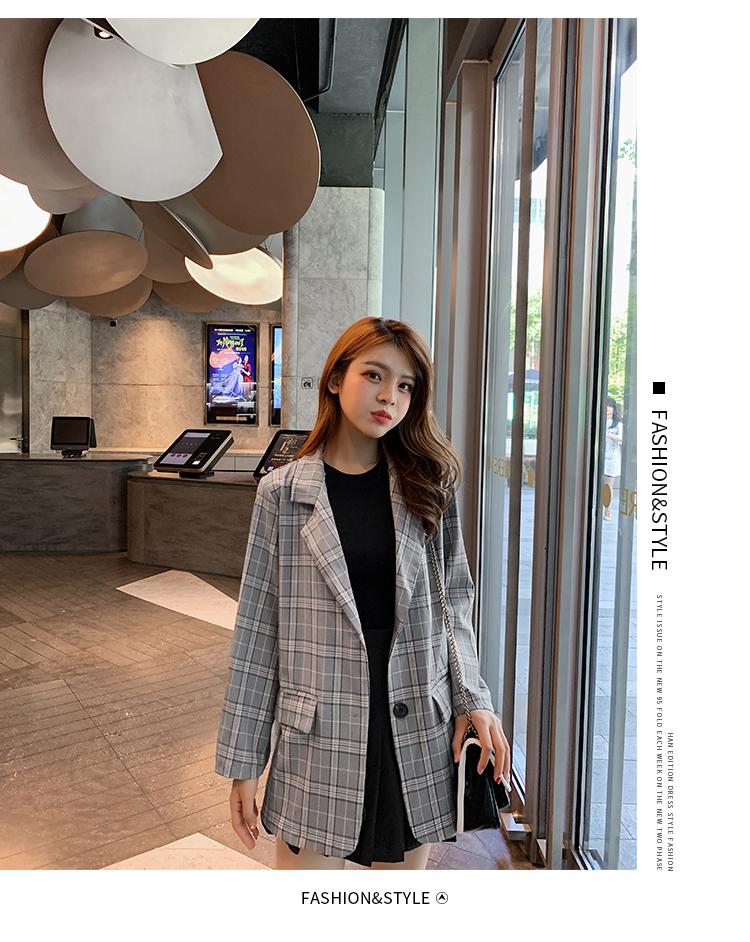 韓国 ファッション セットアップ 春 秋 冬 カジュアル PTXG375  ビッグシルエット プリーツスカート プレッピー オルチャン シンプル 定番 セレカジの写真12枚目