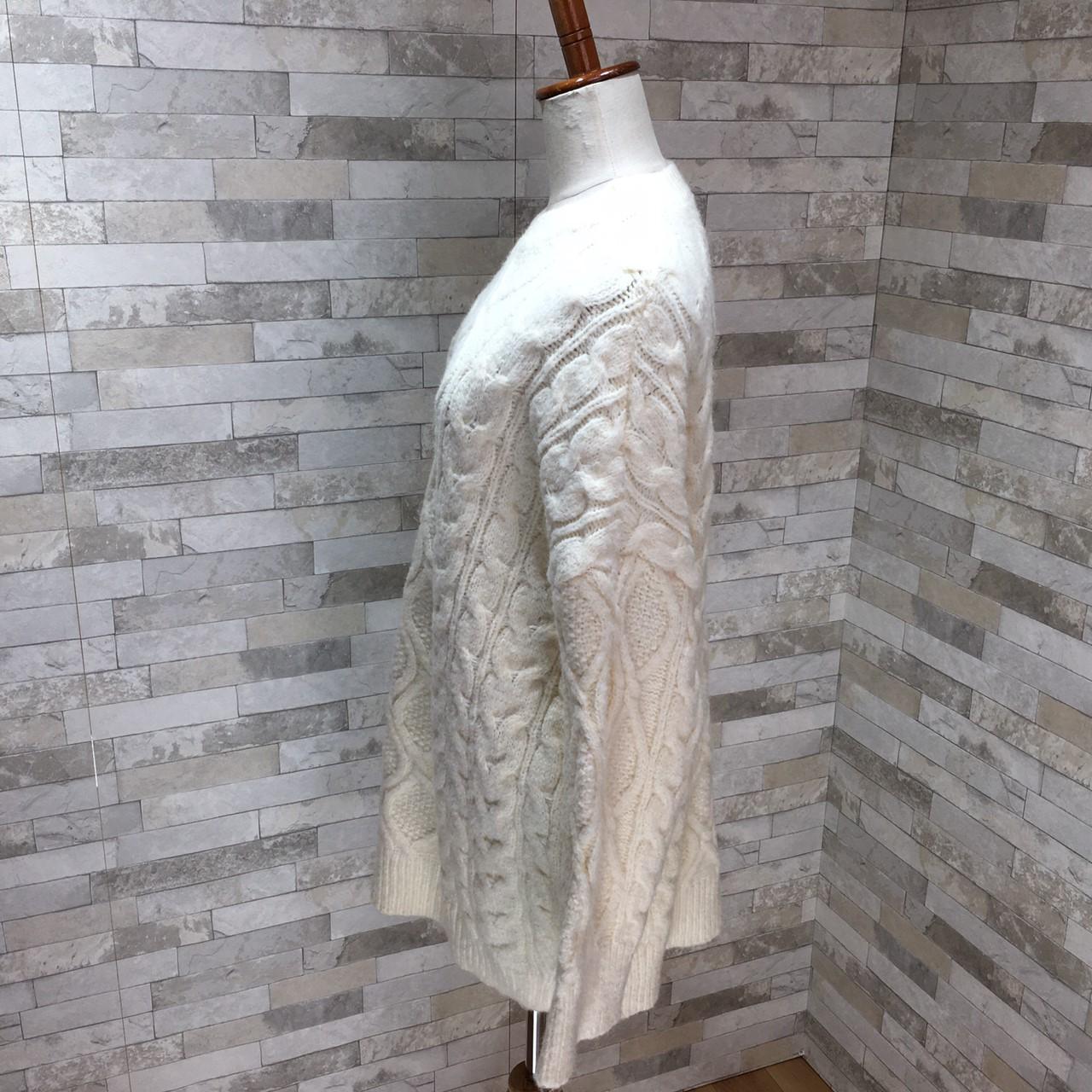 【即納】韓国 ファッション トップス ニット セーター 秋 冬 カジュアル SPTXG551  北欧風 模様編み ビッグシルエット 華奢見せ オルチャン シンプル 定番 セレカジの写真5枚目