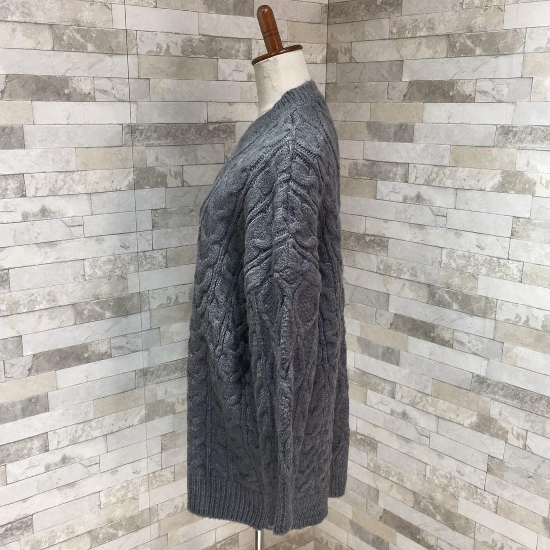 【即納】韓国 ファッション トップス ニット セーター 秋 冬 カジュアル SPTXG551  北欧風 模様編み ビッグシルエット 華奢見せ オルチャン シンプル 定番 セレカジの写真8枚目