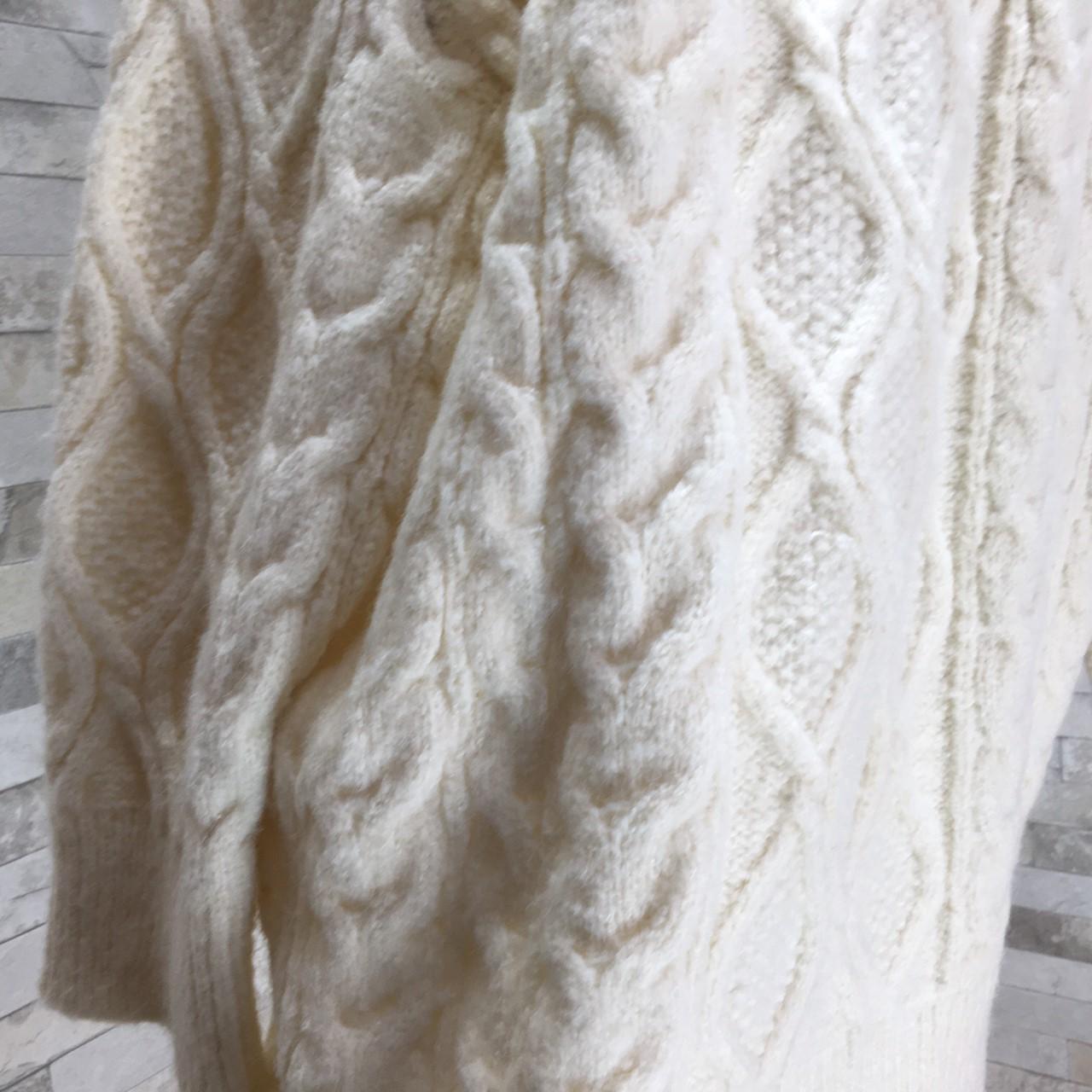 【即納】韓国 ファッション トップス ニット セーター 秋 冬 カジュアル SPTXG551  北欧風 模様編み ビッグシルエット 華奢見せ オルチャン シンプル 定番 セレカジの写真13枚目