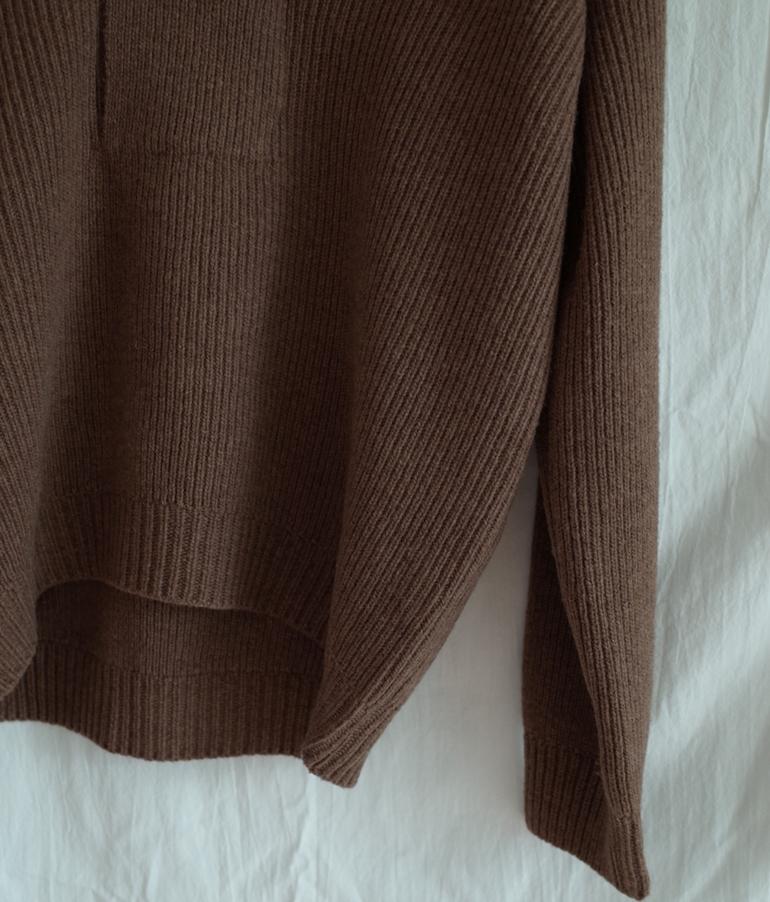 韓国 ファッション トップス ニット セーター 秋 冬 カジュアル PTXG554  セーラーカラー トラッド ナチュラルテイスト  オルチャン シンプル 定番 セレカジの写真17枚目