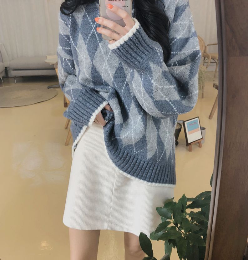 【即納】韓国 ファッション スカート ミニ ボトムス 秋 冬 カジュアル SPTXG567  コーデュロイ ベイクドカラー ガーリー オルチャン シンプル 定番 セレカジの写真10枚目