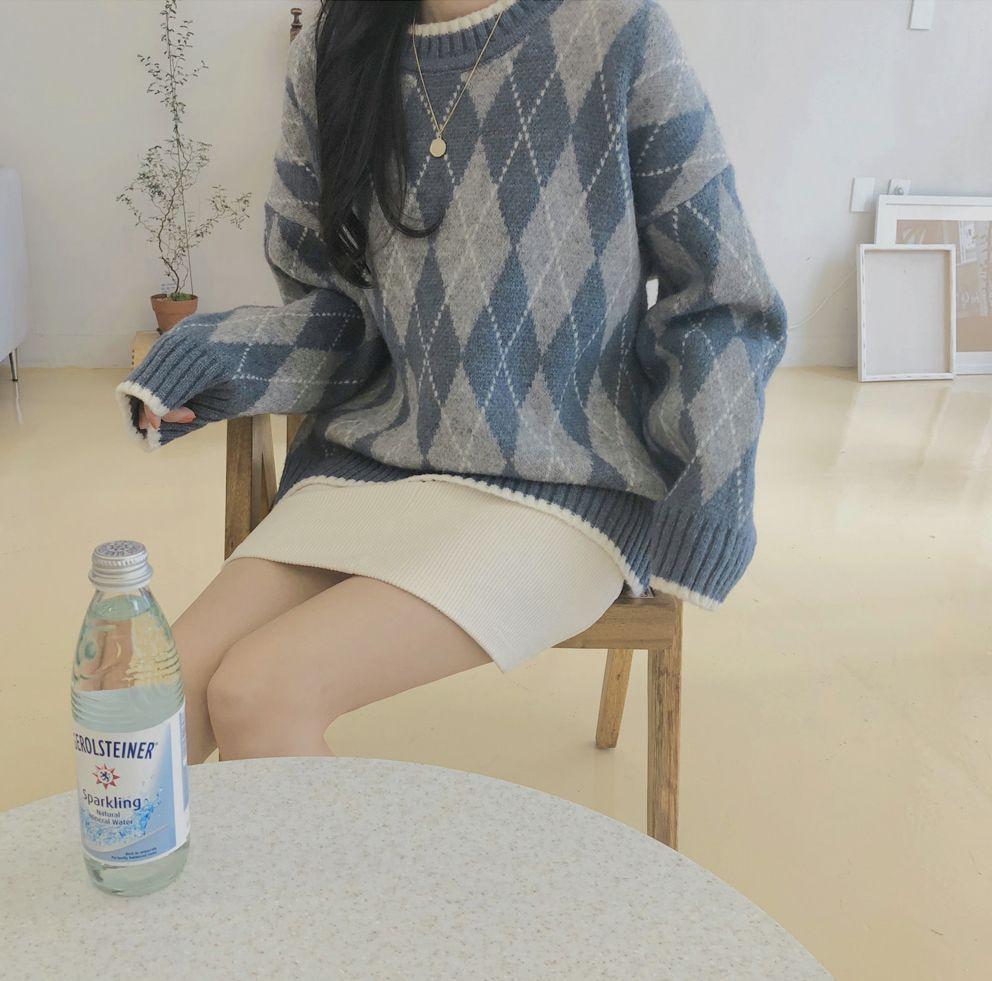 【即納】韓国 ファッション スカート ミニ ボトムス 秋 冬 カジュアル SPTXG567  コーデュロイ ベイクドカラー ガーリー オルチャン シンプル 定番 セレカジの写真12枚目