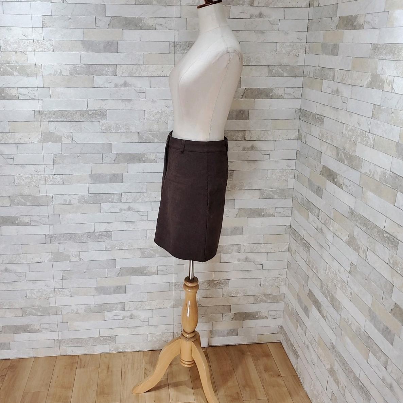 【即納】韓国 ファッション スカート ミニ ボトムス 秋 冬 カジュアル SPTXG567  コーデュロイ ベイクドカラー ガーリー オルチャン シンプル 定番 セレカジの写真14枚目
