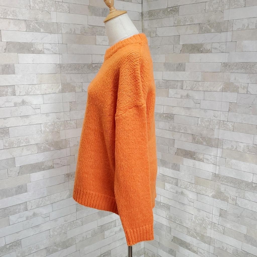 韓国 ファッション トップス ニット セーター 秋 冬 カジュアル PTXG609  ビタミンカラー ビッグシルエット リブ 着回し オルチャン シンプル 定番 セレカジの写真17枚目