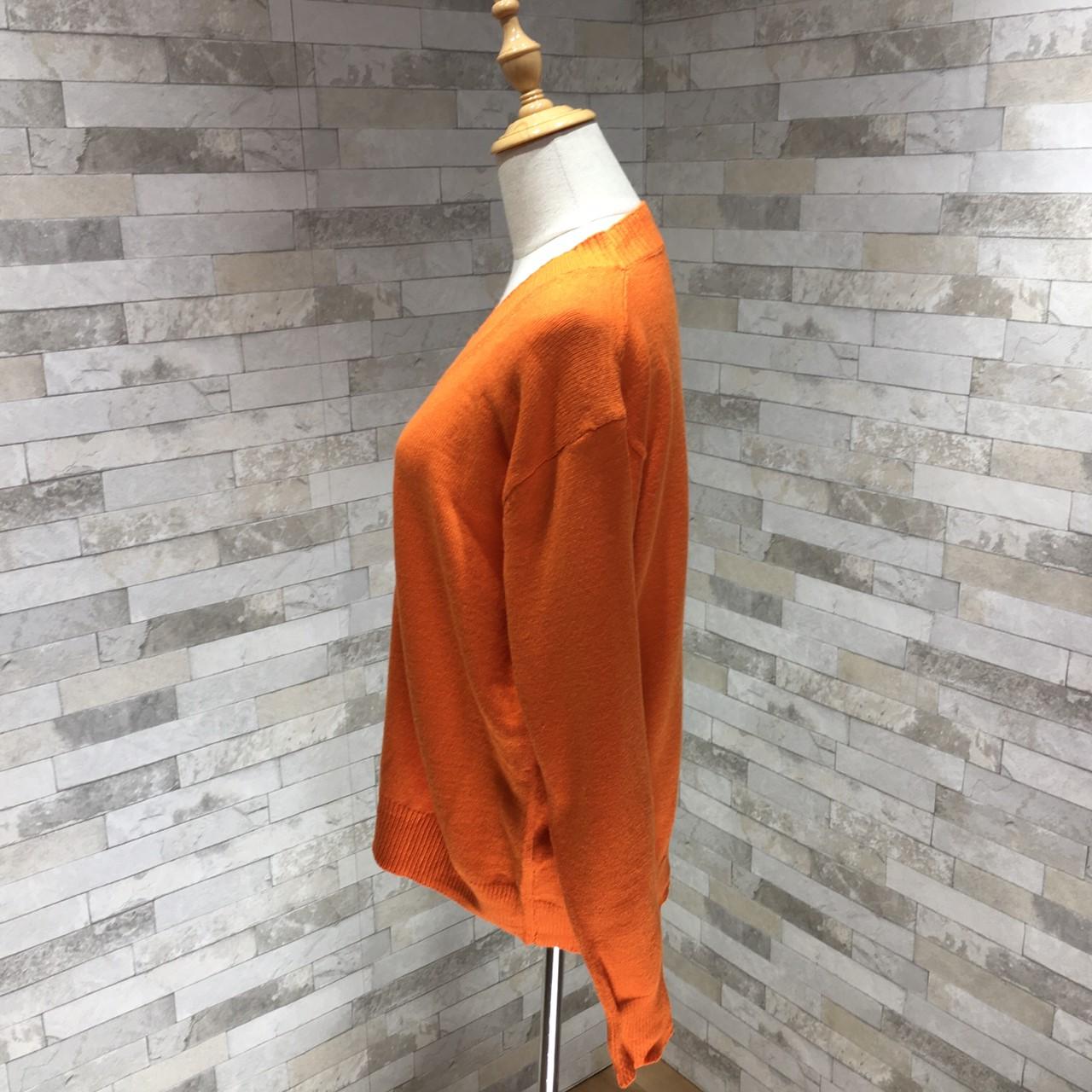 韓国 ファッション トップス ニット セーター 秋 冬 カジュアル PTXG644  リブニット ビッグシルエット ベーシック オルチャン シンプル 定番 セレカジの写真19枚目
