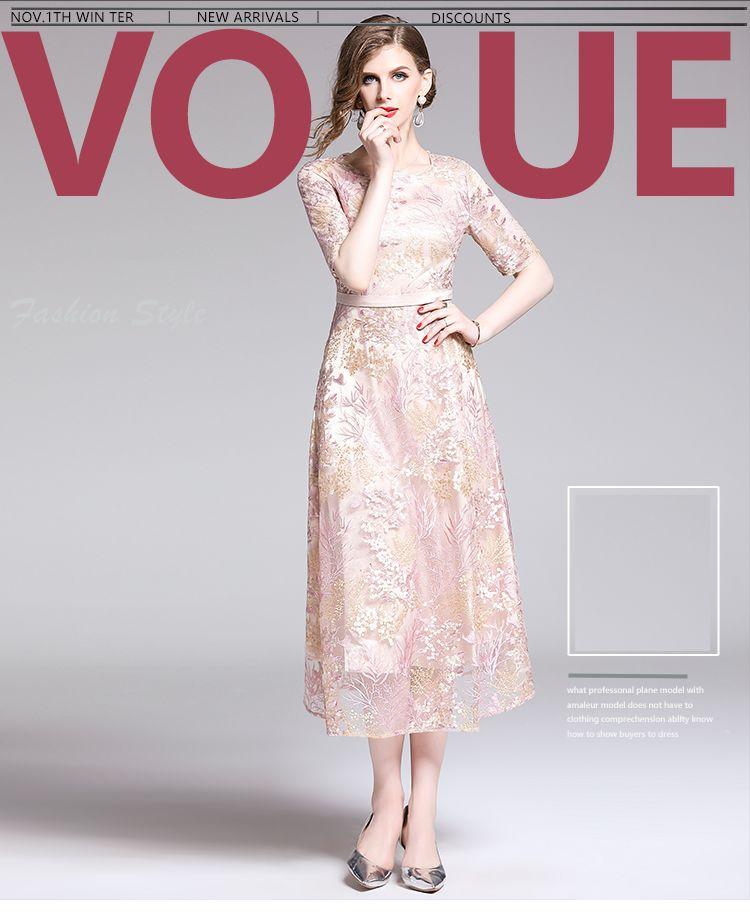 韓国 ファッション ワンピース パーティードレス ロング マキシ 春 夏 秋 パーティー ブライダル PTXG855 結婚式 お呼ばれ シースルー 光沢 ハイウエスト セミフ 二次会 セレブ きれいめの写真8枚目