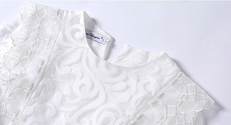 韓国 ファッション ワンピース パーティードレス ロング マキシ 秋 冬 春 パーティー ブライダル PTXG864 結婚式 お呼ばれ オーナメント柄 シースルー ハイウエス 二次会 セレブ きれいめの写真16枚目