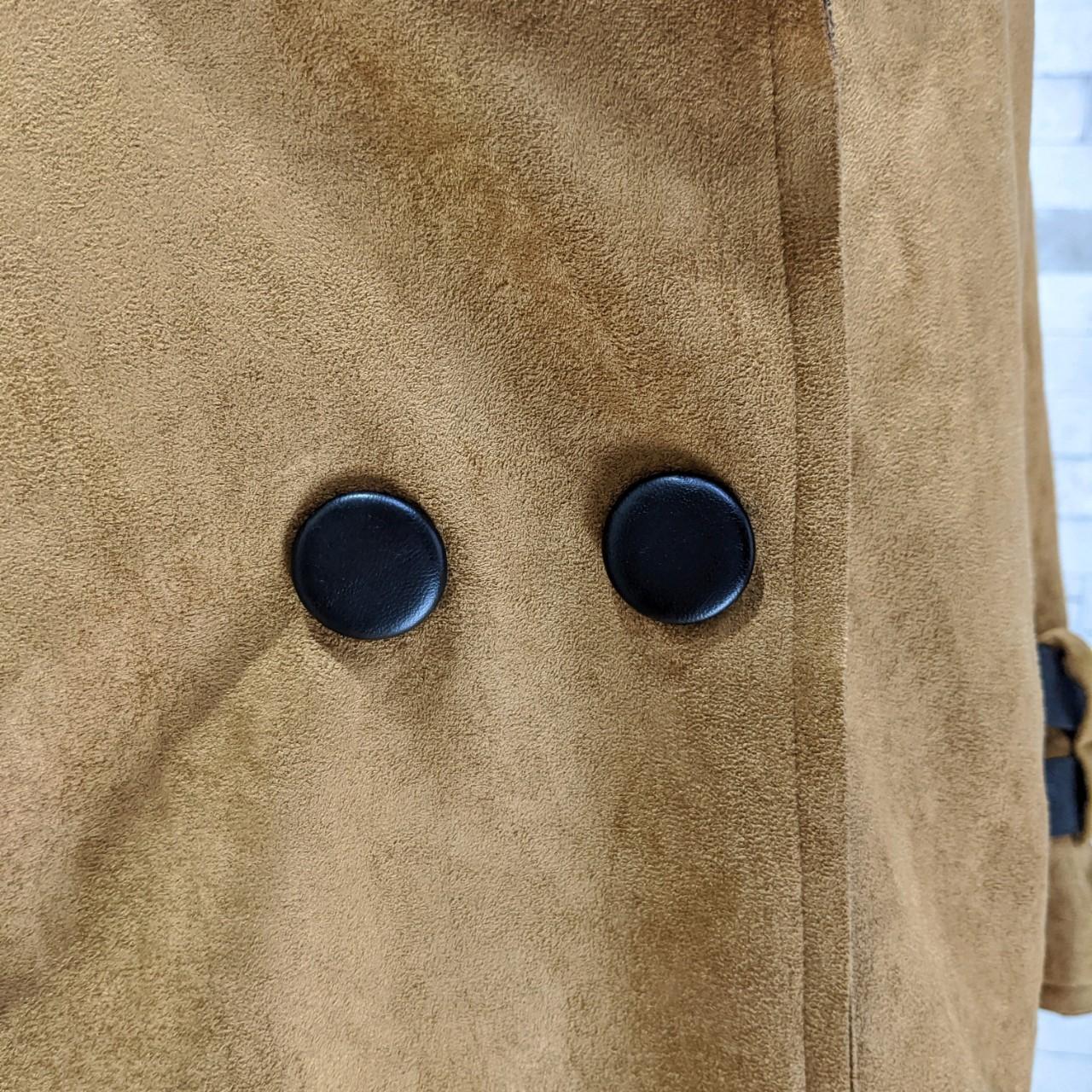 【即納】韓国 ファッション アウター レザージャケット コート 秋 冬 パーティー ブライダル SPTXG910  革ベルト風 エコスエード ジャケット ショート 二次会 セレブ きれいめの写真10枚目
