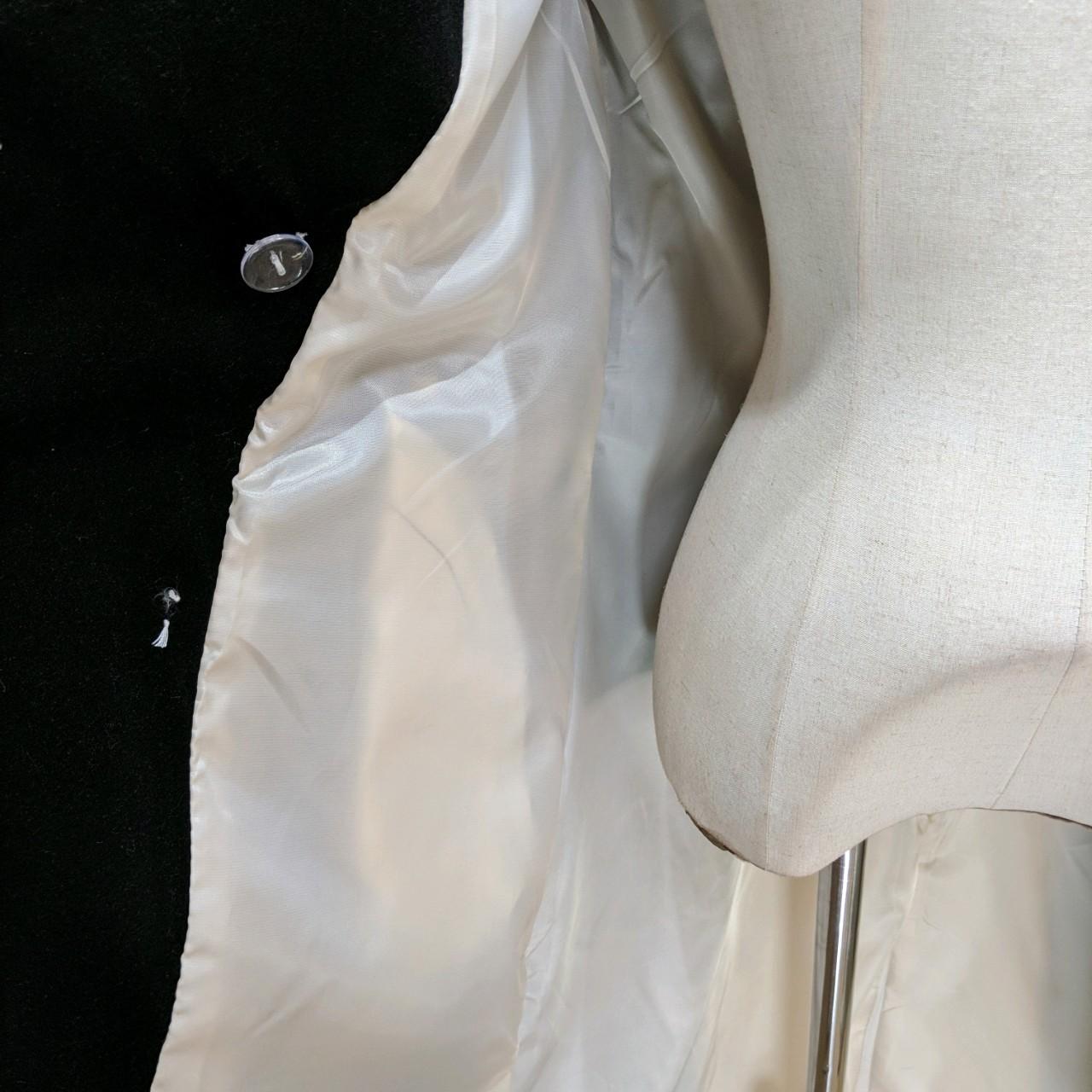 【即納】韓国 ファッション アウター コート 秋 冬 パーティー ブライダル SPTXG918  ミリタリー調 バイカラー アシンメトリー 二次会 セレブ きれいめの写真16枚目