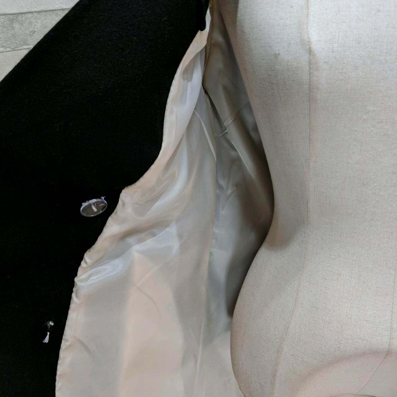 【即納】韓国 ファッション アウター コート 秋 冬 パーティー ブライダル SPTXG918  ミリタリー調 バイカラー アシンメトリー 二次会 セレブ きれいめの写真18枚目